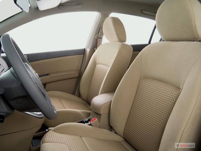 Image 2007 Nissan Sentra 4 Door Sedan Cvt 2 0s Front Seats Size 640 X 480 Type Gif Posted
