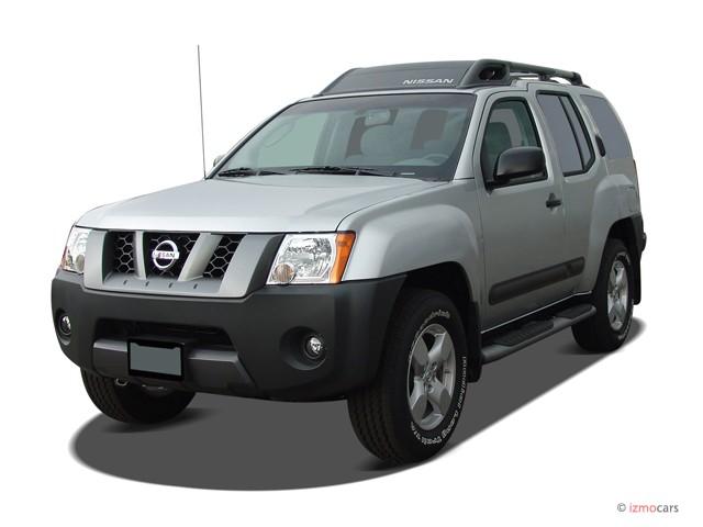 2007 Nissan Xterra 4WD 4-door Auto SE Angular Front Exterior View