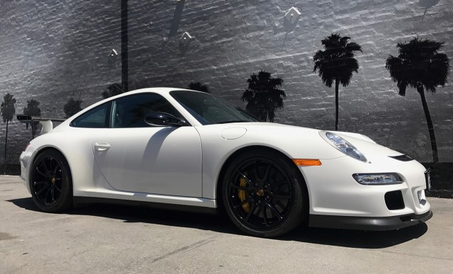 2007 Porsche 911 GT3 RS once owned by Jerry Seinfeld - Image via Russo and Steele