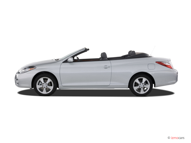image 2007 toyota camry solara 2 door convertible v6 auto sle natl side exterior view size. Black Bedroom Furniture Sets. Home Design Ideas