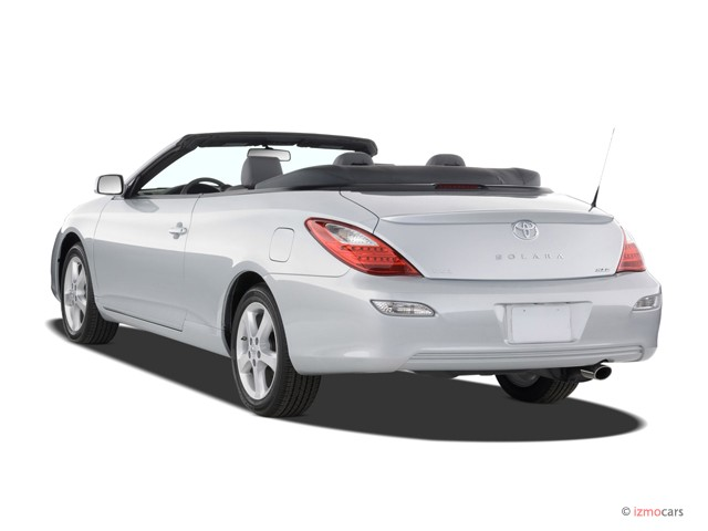 image 2007 toyota camry solara 2 door convertible v6 auto sle natl angular rear exterior view. Black Bedroom Furniture Sets. Home Design Ideas
