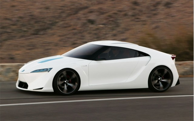 The next Supra could be based on the 2007 Toyota FT-HS Concept