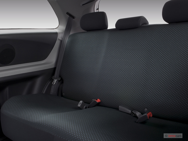 image 2007 toyota yaris 3dr hb man natl rear seats. Black Bedroom Furniture Sets. Home Design Ideas