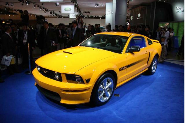 2007 Ford Mustang GT California