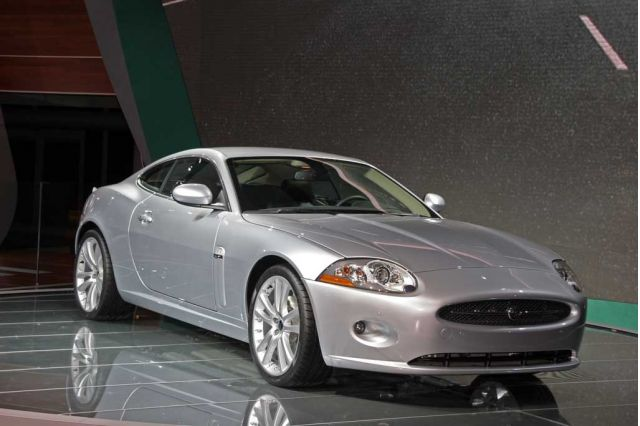 2007 Jaguar XK at Frankfurt