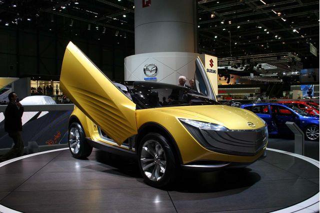 2007 Mazda Hakaze concept