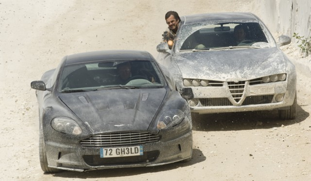 2008 Aston Martin DBS from Quantum of Solace