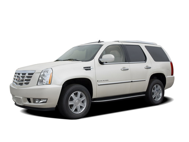 Angular Front Exterior View - 2008 Cadillac Escalade AWD 4-door
