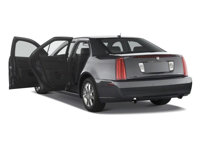 2008 Cadillac STS 4-door Sedan V6 RWD w/1SC Open Doors