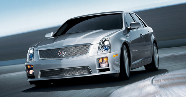 At more than $80,000, Cadillac's STS-V found few takers despite its 470hp (350kW) output