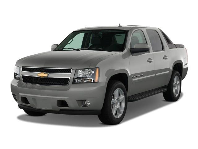 "2008 Chevrolet Avalanche 2WD Crew Cab 130"" LT w/1LT Angular Front Exterior View"
