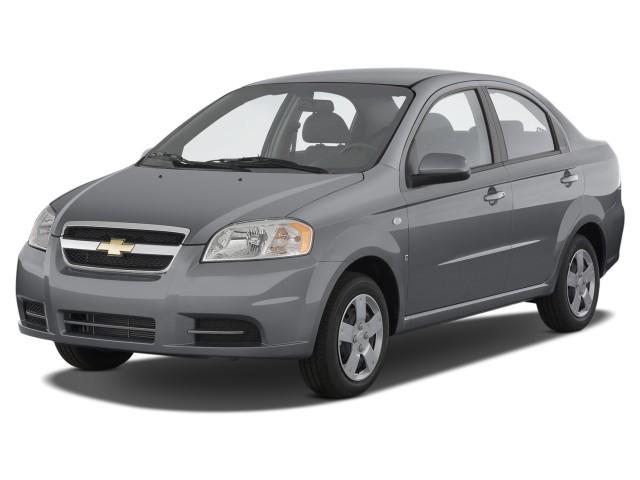 2008 Chevrolet Aveo 4-door Sedan LS Angular Front Exterior View