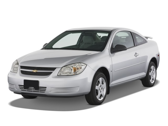 2008 Chevrolet Cobalt 2-door Coupe LS Angular Front Exterior View