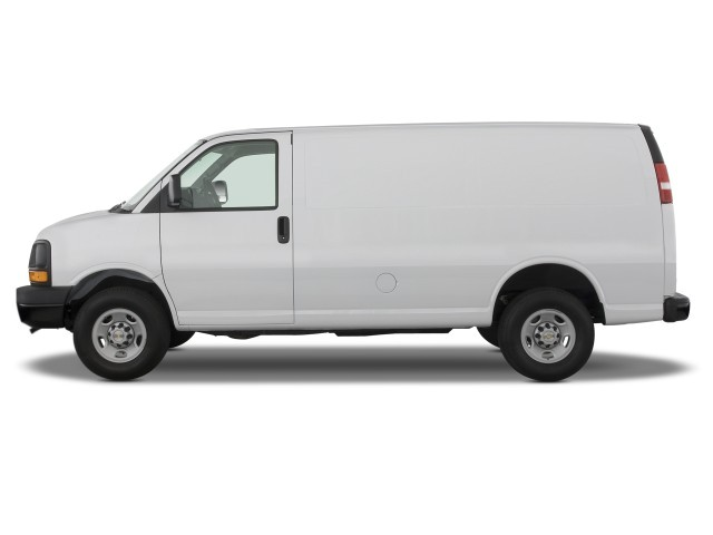 image 2008 chevrolet express cargo van rwd 2500 135 side. Black Bedroom Furniture Sets. Home Design Ideas