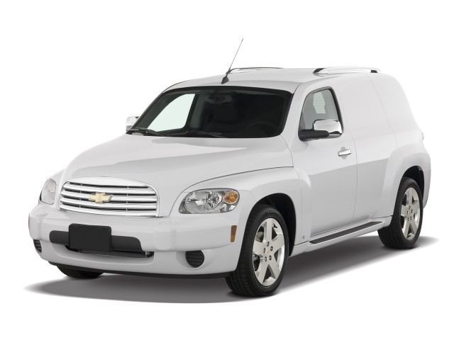 2008 Chevrolet HHR FWD 4-door Panel LT Angular Front Exterior View