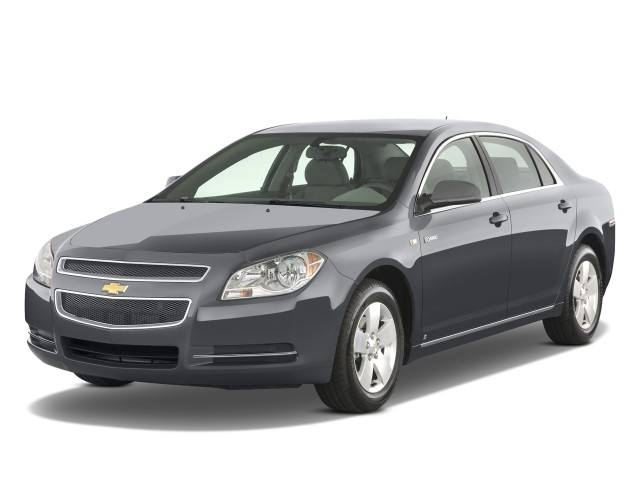 Angular Front Exterior View - 2008 Chevrolet Malibu 4-door Sedan Hybrid