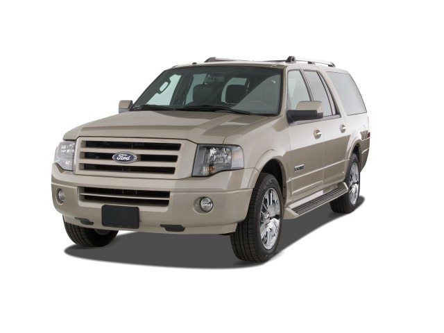 2008 Ford Expedition EL 2WD 4-door Limited Angular Front Exterior View