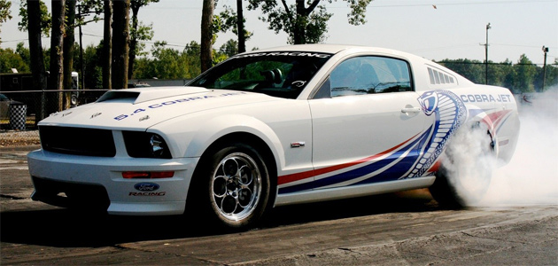 Ford Racing prepping new 2010 Mustang Cobra Jet