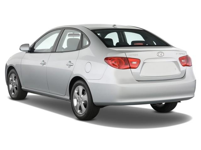 Image 2008 Hyundai Elantra 4 Door Sedan Auto Se Angular