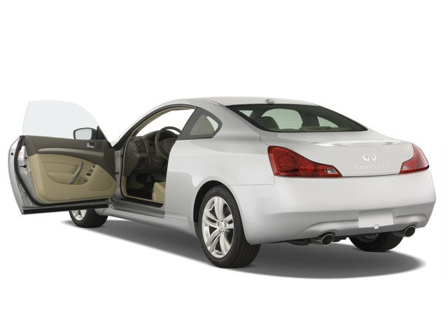 Open Doors - 2008 Infiniti G37 Coupe 2-door Base