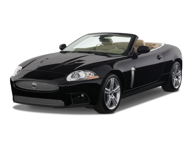 2008 Jaguar XK 2-door Convertible XKR Angular Front Exterior View