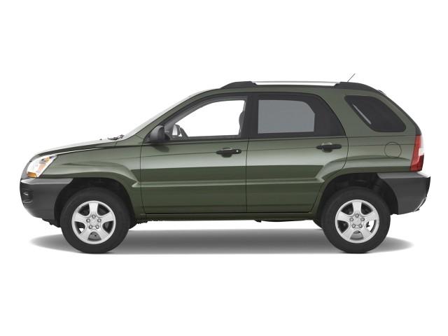 2008 Kia Sportage 2WD 4-door I4 Auto LX Side Exterior View
