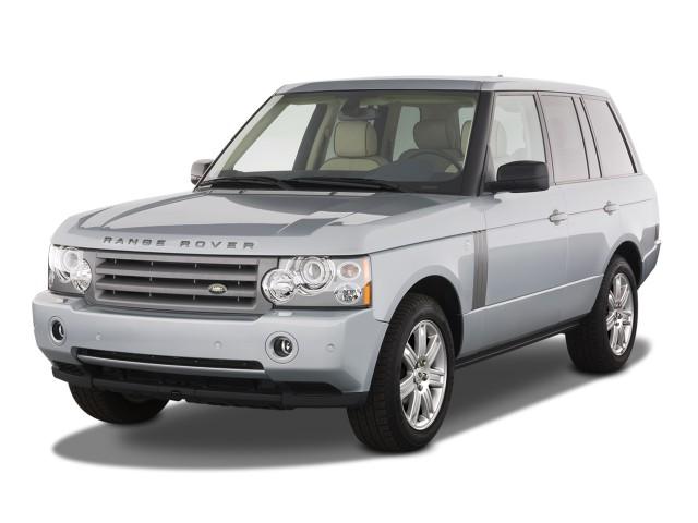 2008 Land Rover Range Rover 4WD 4-door HSE Angular Front Exterior View