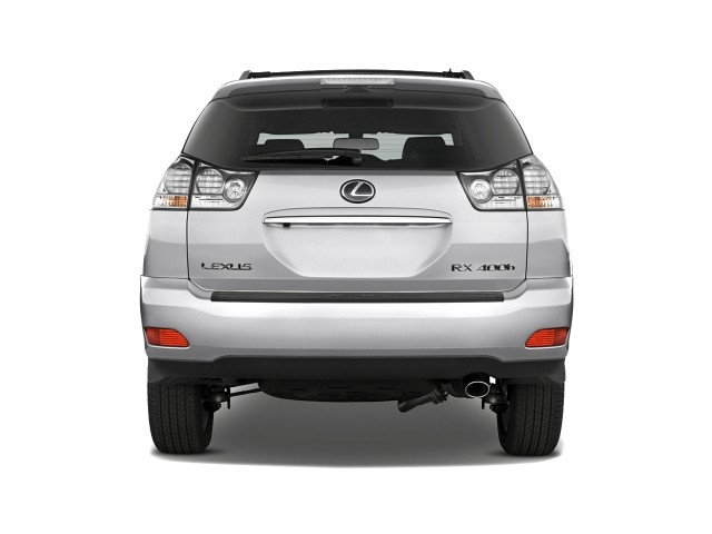 2008 Lexus RX 400h FWD 4-door Hybrid Rear Exterior View
