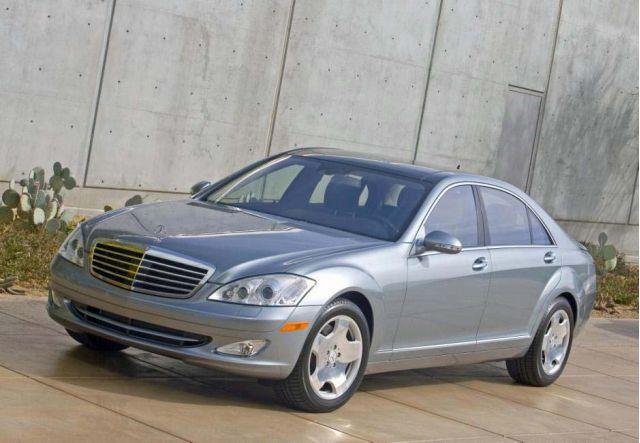 2008 Mercedes-Benz S600