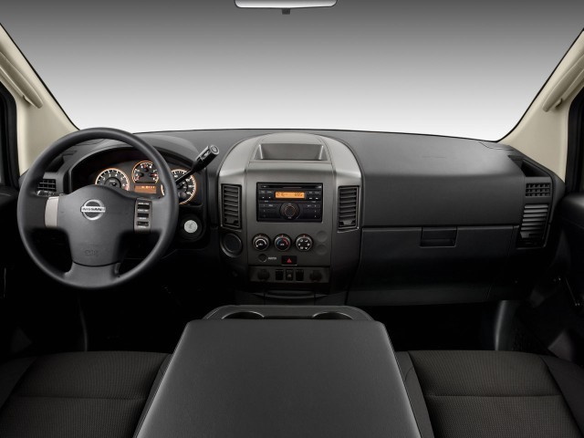 image 2008 nissan titan 2wd king cab swb xe dashboard size 640 x 480 type gif posted on. Black Bedroom Furniture Sets. Home Design Ideas