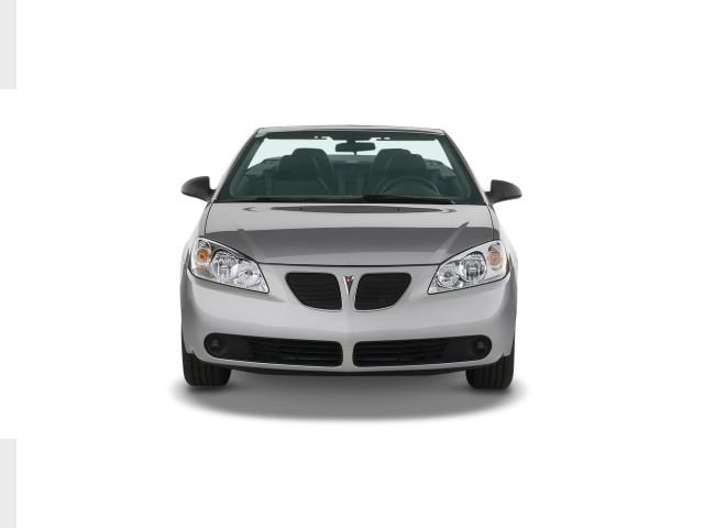 2008 Pontiac G6 2-door Convertible GT Front Exterior View