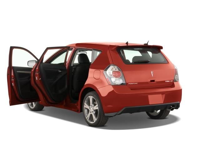 Image 2009 Pontiac Vibe 4 Door Hb Gt Fwd Open Doors Size