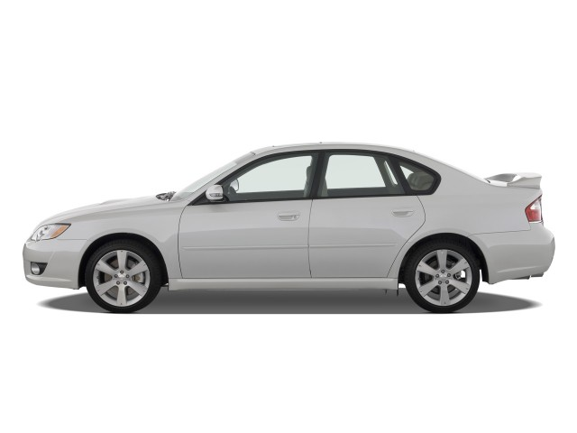 Side Exterior View - 2008 Subaru Legacy Sedan 4-door H4 Auto GT Ltd