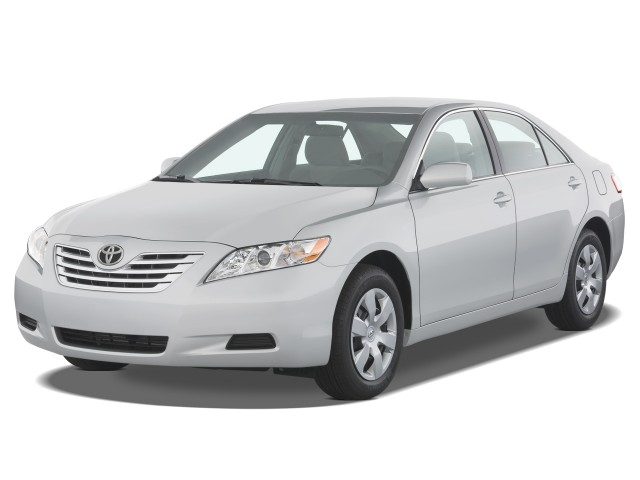 2008 Toyota Camry 4-door Sedan V6 Auto XLE (Natl) Angular Front Exterior View