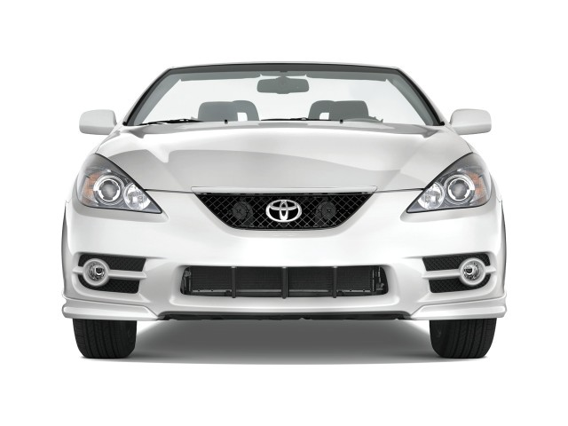 image 2008 toyota camry solara 2 door convertible v6 auto sport natl front exterior view. Black Bedroom Furniture Sets. Home Design Ideas