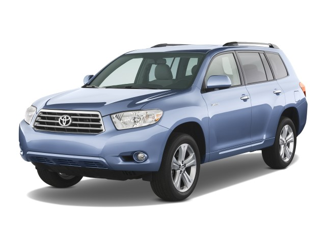 2008 Toyota Highlander 4WD 4-door Limited (Natl) Angular Front Exterior View