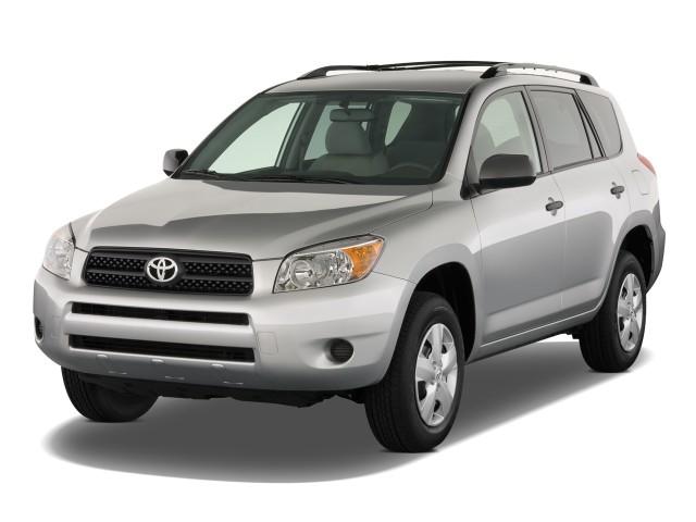 2008 Toyota RAV4 FWD 4-door 4-cyl 4-Spd AT (Natl) Angular Front Exterior View