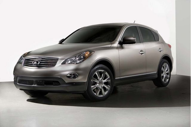 2009 infiniti ex35 review ratings specs prices and. Black Bedroom Furniture Sets. Home Design Ideas