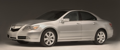 2009 Acura RL debuts at Chicago