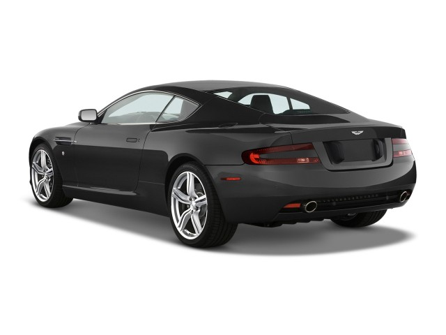 2009 Aston Martin DB9 2-door Coupe Man Angular Rear Exterior View