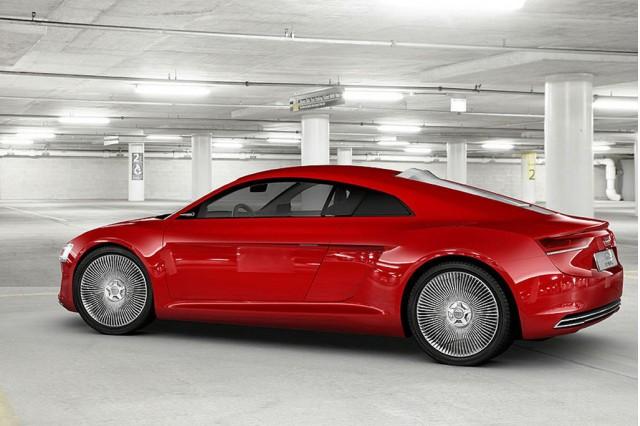 2009 Audi R8 e-Tron Concept