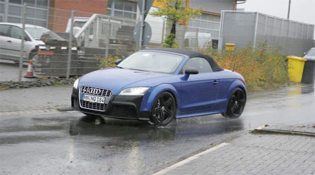RS-prepped Audi TT will feature newly developed five-cylinder turbo