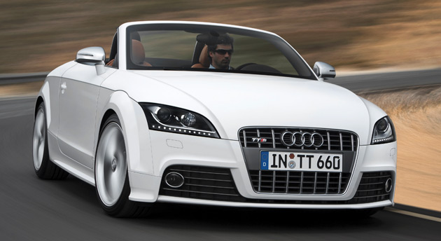 The Audi TTS Coupe will be priced from $45,500 in the U.S., while the Roadster will start at $47,500