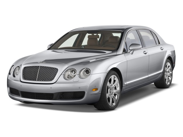 2009 Bentley Continental Flying Spur 4-door Sedan Angular Front Exterior View