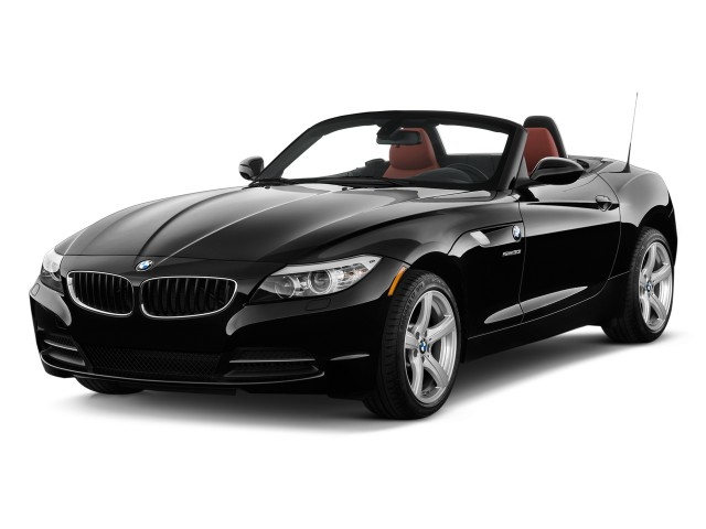 2009 BMW Z4 2-door Roadster sDrive30i Angular Front Exterior View