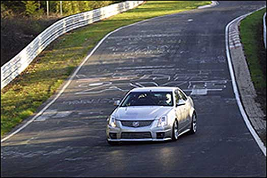 Caddy Bulks Up New CTSv; Sets Nurburgring Record