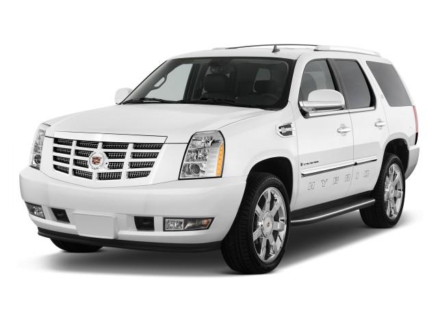 2009 Cadillac Escalade 2WD 4-door Hybrid Angular Front Exterior View