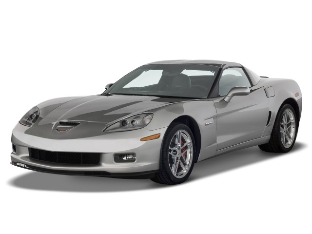 2009 Chevrolet Corvette 2-door Coupe Z06 w/2LZ Angular Front Exterior View