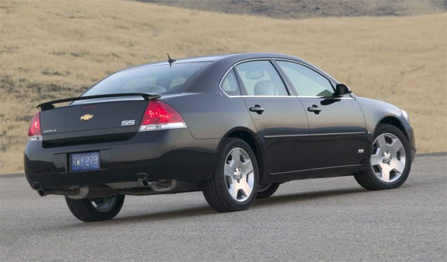 The 2009 Chevy Impala SS won't be returning for the 2010 model year
