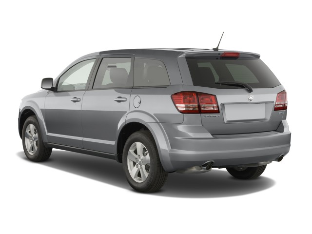 Angular Rear Exterior View - 2009 Dodge Journey AWD 4-door SXT